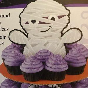Wilton Party Supplies - Wilton Mummy Treat Cupcake Stand NWT